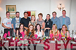 Aileen Carroll, Causeway (seated centre) had a fab night celebrating her 30th birthday in Cassidy's, Tralee last Friday seated l-r: Orla McCarthy, Jess Irwin, Aileen Carroll, Kersti German and Elaine Clifford. Back l-r: Anthony O'Sullivan, Tony Powell, Donald Fok-Seang, Theresa Leahy White, Liz Walsh, Gavin Rooney, Chris O'Hara and James Moriarty.