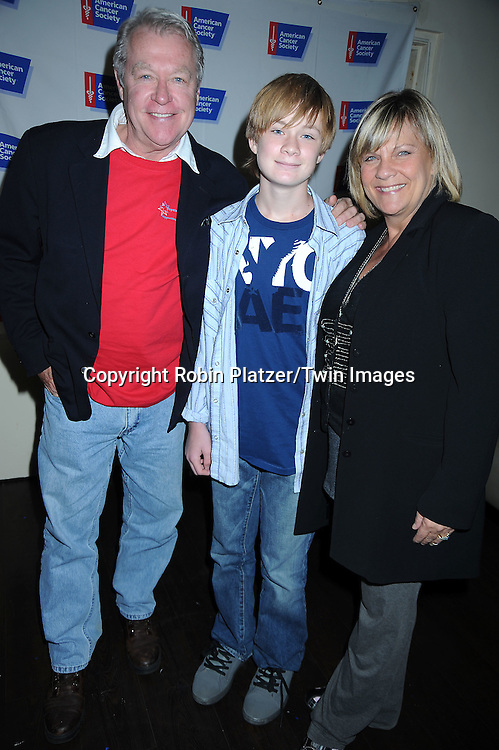 Jerry verDorn, Austin Williams and Kim Zimmer attending the 7th Annual Daytime Stars and Strikes Bowling Event on October 10, 2010 at Leisure Time Bowling Facility in New York City. The event benefited The American Cancer Society.