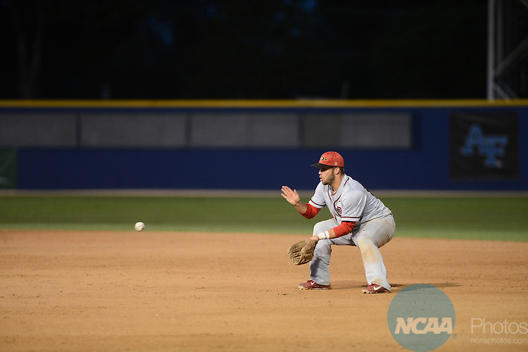 25 May 2013: SDSU defeats New Mexico during the Mountain West Conference Baseball Tournament at Pete Beiden Field in Fresno, CA. Peter Lockley/NCAA Photos