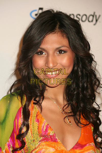 PAULA DeANDA.Clive Davis 2007 Pre-Grammy Awards Party at the Beverly Hilton Hotel, Beverly Hills, USA..February 10th, 2007.headshot portrait .CAP/ADM/BP.©Byron Purvis/AdMedia/Capital Pictures