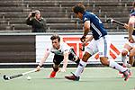 AMSTELVEEN  -   Wiegert Schut (Adam) Hoofdklasse hockey heren ,competitie, heren, Amsterdam-Pinoke (3-2)  . COPYRIGHT KOEN SUYK
