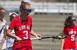 Torrance, CA 05/11/13 - Jenny Lange (Los Alamitos #3) during the 2013 Los Angeles/Orange County Championship game between Los Alamitos and Agoura.  Los Alamitos defeated Agoura 19-4.