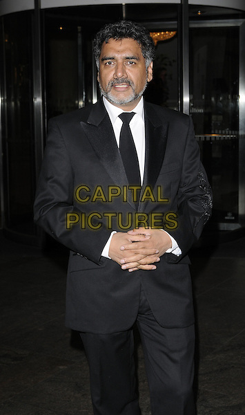 JAMES CAAN.The Asian Women of Achievement Awards, London Hilton Hotel, Park Lane, London, England..May 20th, 2009.half 3/4 length black suit khan beard facial hair .CAP/CAN.©Can Nguyen/Capital Pictures.