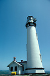 CA: Pigeon Point, California, lighthouse 2005 .Image: capigeon113..Photo Copyright: Lee Foster, lee@fostertravel.com, www.fostertravel.com, (510) 549-2202.