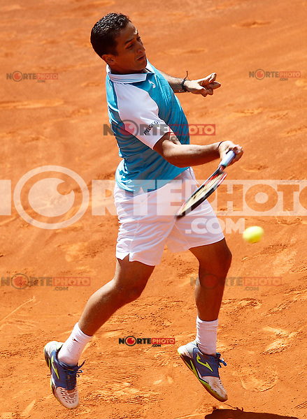 Nicolas Almagro, Spain, during Madrid Open Tennis 2017 match. May 10, 2017.(ALTERPHOTOS/Acero) /NortePhoto.com **NortePhoto.com