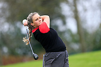 Lea-Anne Bramwell (Wales) during the Irish Girls' Open Stroke Play Championship, Roganstown Golf Club, Swords, Ireland. 13/04/2018.<br /> Picture: Golffile | Fran Caffrey<br /> <br /> <br /> All photo usage must carry mandatory copyright credit (&copy; Golffile | Fran Caffrey)