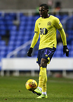 Blackburn Rovers' Amari'i Bell  competing with Reading's  <br /> <br /> Photographer Andrew Kearns/CameraSport<br /> <br /> The EFL Sky Bet Championship - Reading v Blackburn Rovers - Wednesday 13th February 2019 - Madejski Stadium - Reading<br /> <br /> World Copyright © 2019 CameraSport. All rights reserved. 43 Linden Ave. Countesthorpe. Leicester. England. LE8 5PG - Tel: +44 (0) 116 277 4147 - admin@camerasport.com - www.camerasport.com