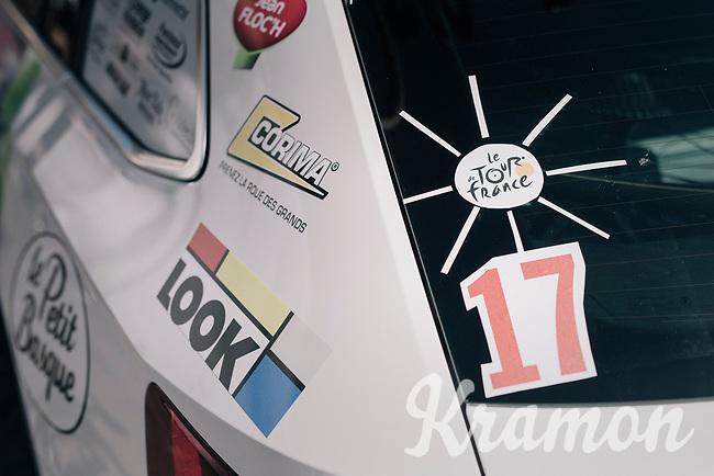 costumised car number<br /> <br /> 104th Tour de France 2017<br /> Stage 6 - Vesoul › Troyes (216km)