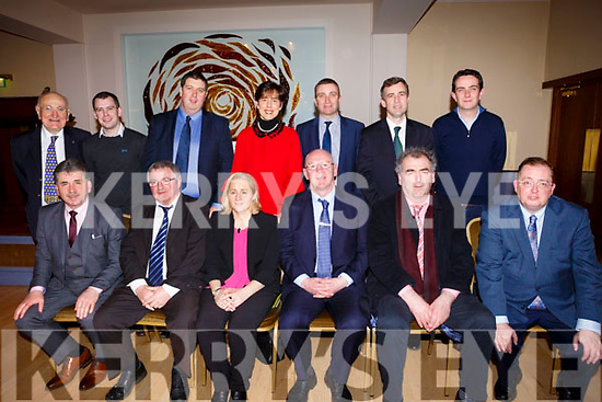 Members of the Fianna Fail party attending the Kerry Fianna Fail Comhairle Dail Ceantair, convention in the Ballygarry House Hotel on Sunday night last.