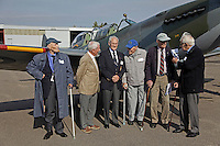 Norwegian Spitfire Foundation invited Norwegian WWII  Spitfire veterans to fly in Spitfire, at the historical airfield Kjeller in Norway.