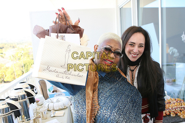 """LUENELL.2007 Golden Globe """"All Around The World"""" Style Lounge - Day One held before the 64th Annual Golden Globe Awards at the Beverly Hilton, Beverly Hills, California, USA,.12 January 2007..half length.CAP/ADM/ZL.©Zach Lipp/AdMedia/Capital Pictures."""