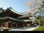 Butsuden Buddha Hall and Hatto Dharma Hall, Kenchoji Zen Temple, Kamakura, Japan