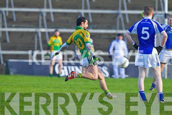 Finuge in action against  Monasterevan in the All Ireland Intermediate Club Championship Semi Final at the Gaelic Grounds in Limerick on Sunday.