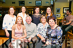 At a Tralee Credit Union  Staff Social in Stoker Lodge on Saturday were Front l-r  Emer O'Connor, Derry Fleming, Hannah Mansell and Kim Heffernan. Back l-r  Phyllis Healy, Karen Delaney, Martha O'Donnell and Siobhan Kelly