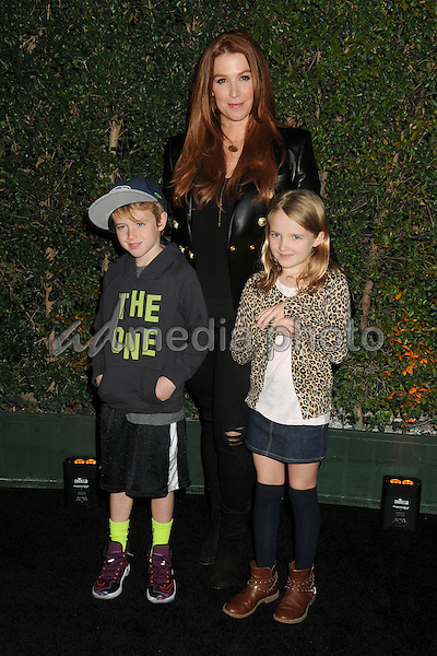 "9 December 2015 - Los Angeles, California - Poppy Montgomery. Opening Night of ""Kurios"" from Cirque du Soleil held at Dodgers Stadium. Photo Credit: Byron Purvis/AdMedia"