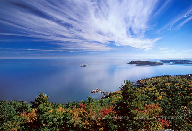 Lake Superior photos, pictures, images, Upper Peninsula of Michigan. Lake Superior Magazine Calendar Cover 2008