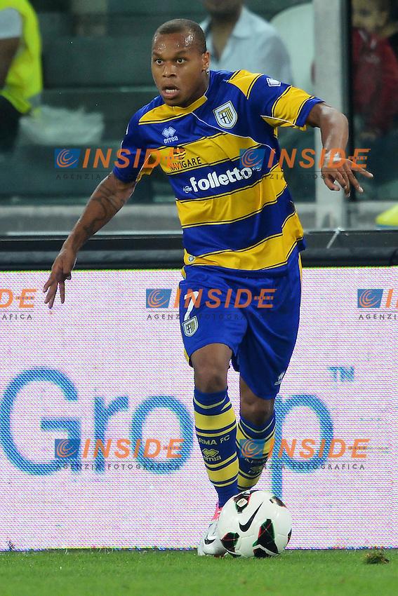 "Jonathan Biabiany Parma.Torino 25/8/2012 ""Juventus"" stadium.Football Calcio 2012/2013 Serie A.Juventus Vs Parma.Foto Andrea Staccioli Insidefoto"