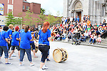 at the Samba Festival on West Street...(Photo credit should read Jenny Matthews www.newsfile.ie)....This Picture has been sent you under the conditions enclosed by:.Newsfile Ltd..The Studio,.Millmount Abbey,.Drogheda,.Co Meath..Ireland..Tel: +353(0)41-9871240.Fax: +353(0)41-9871260.GSM: +353(0)86-2500958.email: pictures@newsfile.ie.www.newsfile.ie.