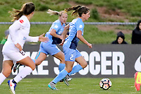 Piscataway, NJ - Sunday April 30, 2017: McKenzie Meehan during a regular season National Women's Soccer League (NWSL) match between Sky Blue FC and FC Kansas City at Yurcak Field.