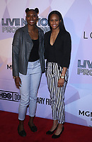 08 March 2018 - Las Vegas, NV - Sequoia Holmes, Moriah Jefferson. Special VIP screening of HBO Documentary film BELIEVER at KA Theatre at MGM Grand.    <br /> CAP/ADM/MJT<br /> &copy; MJT/ADM/Capital Pictures