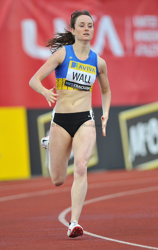 Photo: Tony Oudot/Richard Lane Photography..Aviva London Grand Prix. 24/07/2009. .women's 400m B Final. .Kim Wall of GB.