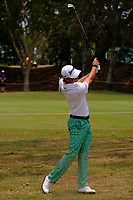 Smylie Kaufman (USA) on the 3rd fairway during round 2 of the Australian PGA Championship at  RACV Royal Pines Resort, Gold Coast, Queensland, Australia. 20/12/2019.<br /> Picture TJ Caffrey / Golffile.ie<br /> <br /> All photo usage must carry mandatory copyright credit (© Golffile | TJ Caffrey)