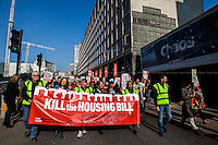 "13.03.2016 - ""National Demo Against The Housing Bill"""