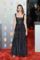 LONDON, UK - FEBRUARY 10: Freya Mavor at the 72nd British Academy Film Awards held at Albert Hall on February 10, 2019 in London, United Kingdom. Photo: imageSPACE/MediaPunch<br /> CAP/MPI/IS<br /> ©IS/MPI/Capital Pictures