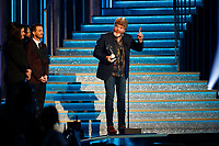 NASHVILLE, TN - NOVEMBER 14:  Mac McAnally appears on the 52nd Annual CMA Awards at the Bridgestone Arena on November 14, 2018 in Nashville, Tennessee. (Photo by Frederick Breedon/PictureGroup)