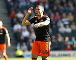 Samir Carruthers of Sheffield Utd during the English League One match at  Stadium MK, Milton Keynes. Picture date: April 22nd 2017. Pic credit should read: Simon Bellis/Sportimage