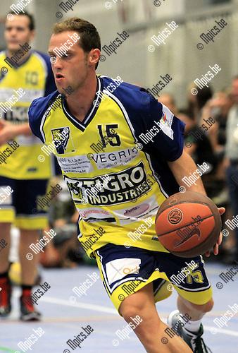 2010-08-15 / Basketbal / seizoen 2010-2011 / BBC Geel /  Peter Van De Weyer..Foto: mpics