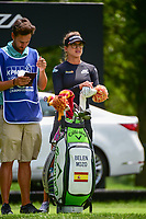 Belen Mozo (ESP) waits to tee off on 17 during Thursday's round 1 of the 2017 KPMG Women's PGA Championship, at Olympia Fields Country Club, Olympia Fields, Illinois. 6/29/2017.<br /> Picture: Golffile | Ken Murray<br /> <br /> <br /> All photo usage must carry mandatory copyright credit (&copy; Golffile | Ken Murray)