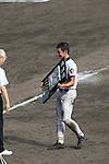 Hayato Nagano (Mie),<br /> AUGUST 25, 2014 - Baseball :<br /> Hayato Nagano of Mie receives the runner-up plaque during the closing ceremony after the 96th National High School Baseball Championship Tournament final game between Mie 3-4 Osaka Toin at Koshien Stadium in Hyogo, Japan. (Photo by Katsuro Okazawa/AFLO)8()