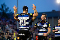 West Country Challenge Cup match, between Bath Rugby and Exeter Chiefs on October 10, 2015 at the Recreation Ground in Bath, England. Photo by: Patrick Khachfe / Onside Images