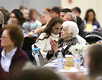 Guests listen as keynote speaker Isabelle Rodriguez Wilson speaks at the annual Western Nevada College Foundation Scholarship Appreciation &amp; Recognition Celebration in Carson City, Nev., on Friday, March 9, 2018. <br /> Photo by Cathleen Allison/Nevada Momentum
