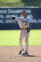 Stephen Alemais #2 of the Tulane Green Wave during a game against the Pepperdine Waves at Eddy D. Field Stadium on March 13, 2015 in Malibu, California. Tulane defeated Pepperdine, 9-3. (Larry Goren/Four Seam Images)