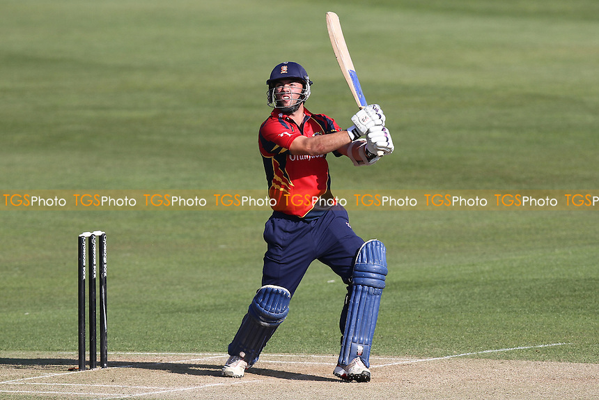 Mark Pettini in batting action for Essex - Essex CCC vs Middlesex CCC - Friendly Cricket Match at the Ford County Ground, Chelmsford, Essex - 26/03/12 - MANDATORY CREDIT: Gavin Ellis/TGSPHOTO - Self billing applies where appropriate - 0845 094 6026 - contact@tgsphoto.co.uk - NO UNPAID USE.