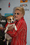 "Blithe Spirit's Angela Lansbury at Broadway Barks 11 - a ""Pawpular"" star-studded dog and cat adopt-a-thon on July 11, 2009 in Shubert Alley, New York City, NY. (Photo by Sue Coflin/Max Photos)"