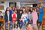 BABY JOY: Proud parents Kevin O'Leary and Emma McElligott, Connolly Park, Tralee (seated centre) of little Noah Michael who was Christening by Fr Healy at St John's Church, Tralee and celebrated afterwards with family and friends at the Whitehouse bar, Tralee on Sunday.