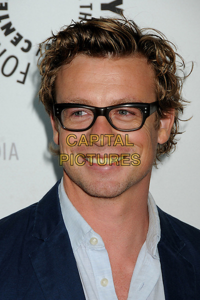 "SIMON BAKER.The 26th Annual William S. Paley Television Festival presents ""The Mentalist"" held at Arclight Cinemas,  Hollywood, CA, USA, 17th April 2009..portrait headshot glasses blue shirt suit jacket .CAP/ADM/BP.©Byron Purvis/Admedia/Capital Pictures"