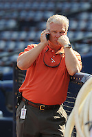 29 March 2008: General Manager Frank Wren of the Atlanta Braves prior to an exhibition game against the Cleveland Indians at Turner Field in Atlanta, Ga.   Photo by: Tom Priddy/Four Seam Images