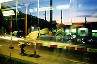 Trasporti pubblici a Zurigo. Public transport in Zurich....