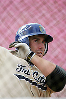 July 8 2009: Bo Bowman of the Tri City Dust Devils before game against the Salem-Kaizer Volcanoes at Volcano  Stadium in Kaizer,OR.  Photo by Larry Goren/Four Seam Images