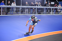 INLINESKATEN: HEERENVEEN: 22-09-2016, Sportstad, eerste wedstrijd in de overdekte Inlinehal, ©foto Martin de Jong