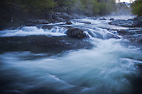 Morning Cascade on Middle Prong of Pigeon River at Greenbrier