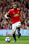 Juan Mata of Manchester United during the premier league match at the Old Trafford Stadium, Manchester. Picture date 17th September 2017. Picture credit should read: Simon Bellis/Sportimage