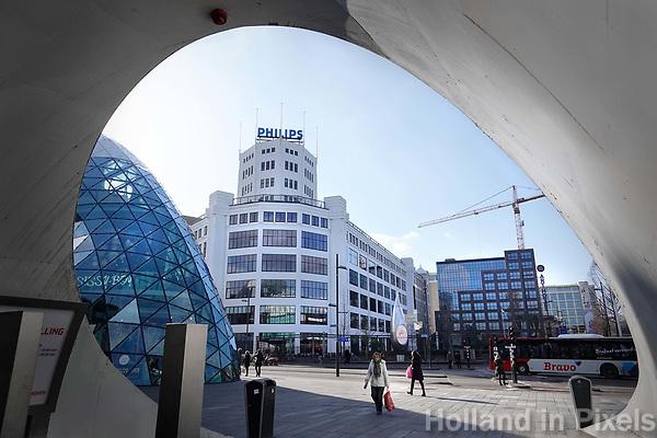 Nederland  Eindhoven -  2018.  Het centrum van Eindhoven.  Foto Berlinda van Dam / Hollandse Hoogte