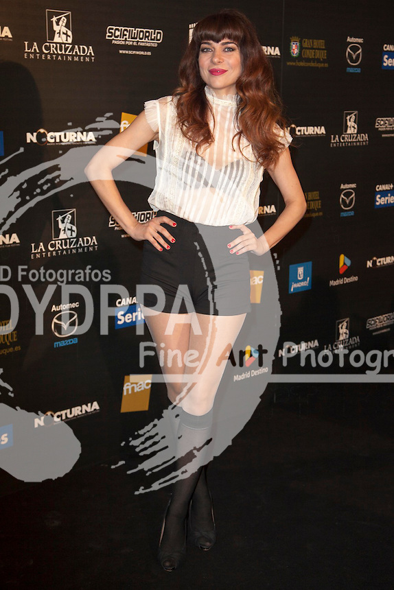"""Celebrities attend """"Nocturna"""" Madrid Fantastic Film Festival. In the image: Alicia Montesquiu at Palafox Cinema in Madrid Spain. May 28, 2013  Nacho Lopez / DYD FOTOGRAFOS-DYDPPA"""