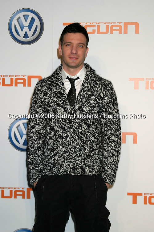 J.C. Chasez.US Premiere of Concept Tiguan by Volkswagen.Raleigh Studios.Los Angeles, CA.November 28, 2006.©2006 Kathy Hutchins / Hutchins Photo....