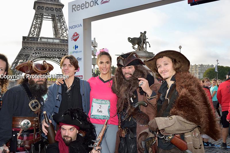 Elodie CLOUVEL - COURSE 'LA PARISIENNE' - 10/09/2017, PARIS, FRANCE. # LES PEOPLE PARTICIPENT A LA COURSE 'LA PARISIENNE 2017'